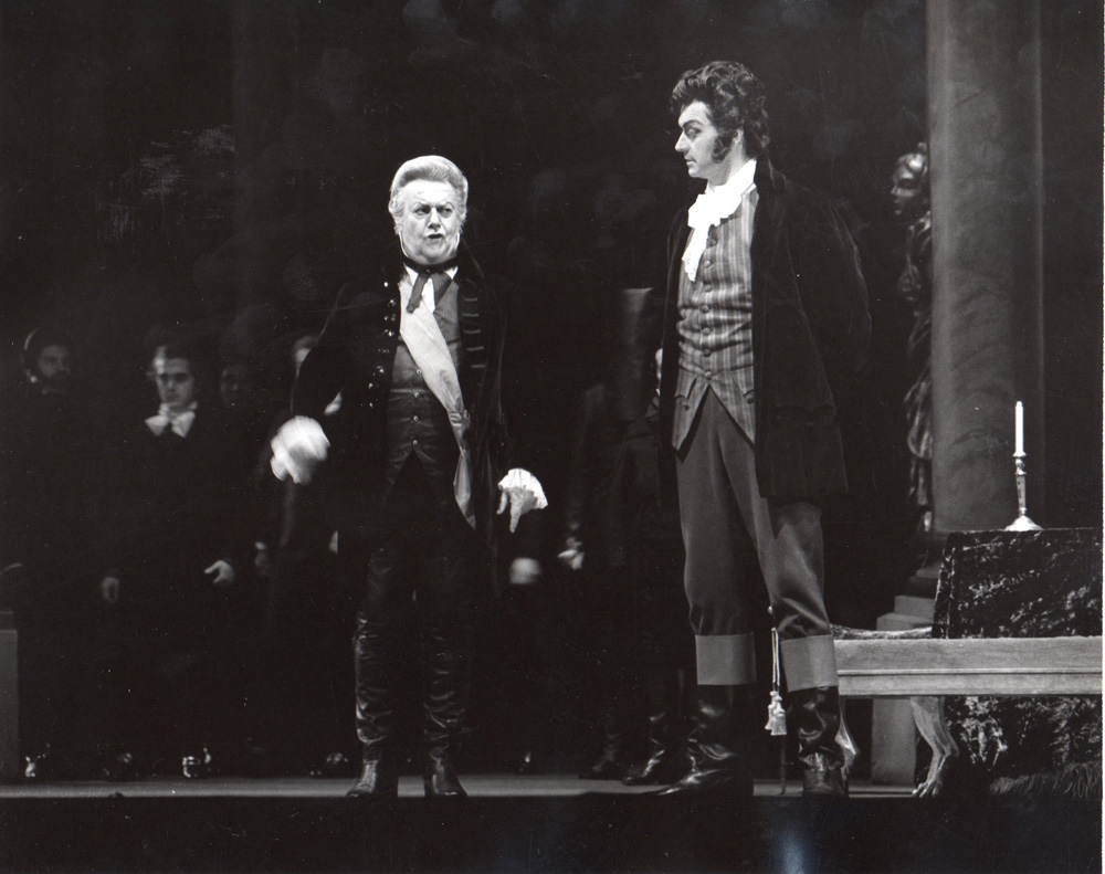 Tosca (1974, Lyric Opera di Chicago)